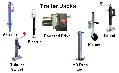 trailer jacks. Black Bedroom Furniture Sets. Home Design Ideas