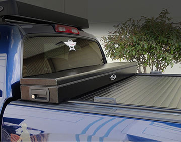 weather resistant unmatched security textured powder coated finish takes up no additional bed space a truck cover that really works toolbox u0026 cover